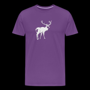 Buck Deer Hunter - Men's Premium T-Shirt