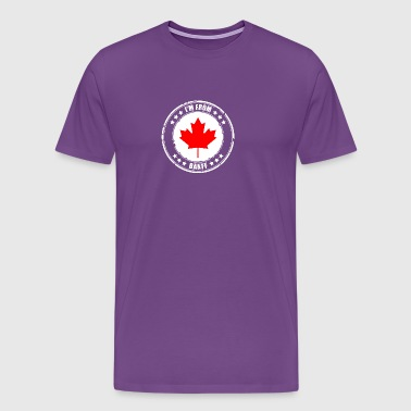 I'm from BANFF - Men's Premium T-Shirt
