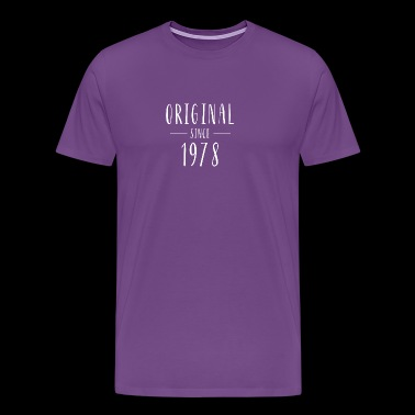 Original since 1978 - Born in 1978 - Men's Premium T-Shirt