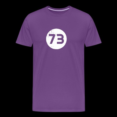 Sheldon Cooper s 73 - Men's Premium T-Shirt
