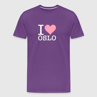 I Love Oslo - Men's Premium T-Shirt