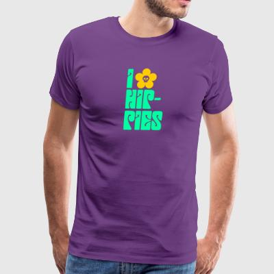 Hippies Retro - Men's Premium T-Shirt