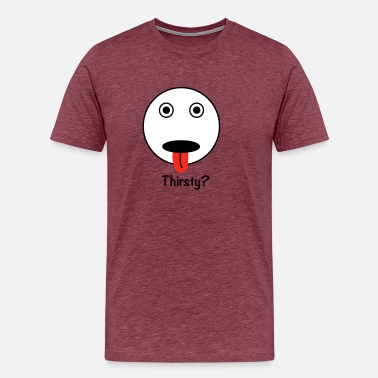 Attention THIRSTY - Men's Premium T-Shirt