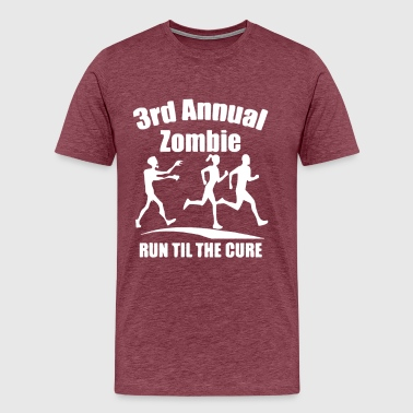 Annual Party 3rd Annual Zombie Run Til The Cure - Men's Premium T-Shirt