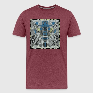 Surreal HIDDEN FACE 1 - Men's Premium T-Shirt