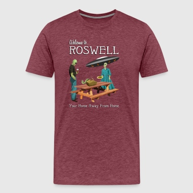 Welcome To Roswell - Men's Premium T-Shirt