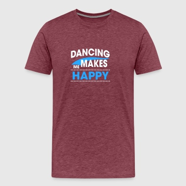 Face Dance DANCING - Men's Premium T-Shirt