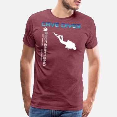 Cave Diving Cave diver Diving - Men's Premium T-Shirt