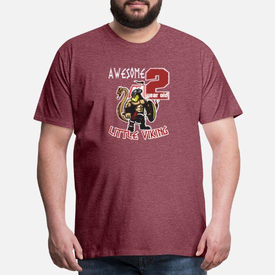 63c29807e Idea T-Shirts - Funny 2 Year Old Little Viking 2nd Birthday Boy - Men's