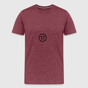 smiley-sad-face-icon-15 - Men's Premium T-Shirt