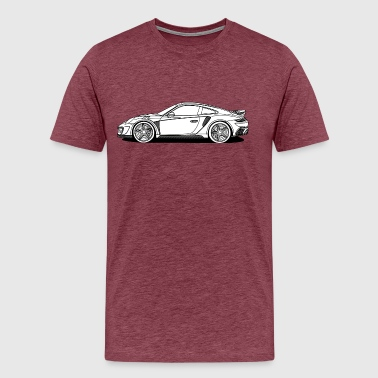 Profile Sports Car - Men's Premium T-Shirt