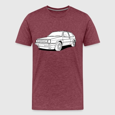 Cool Hatchback - Men's Premium T-Shirt