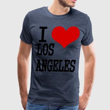 I love Los Angeles - Men's Premium T-Shirt