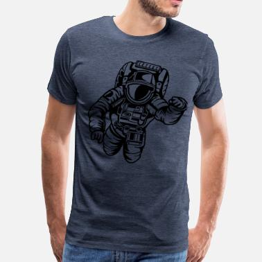 Esa Flying Astronaut - Men's Premium T-Shirt