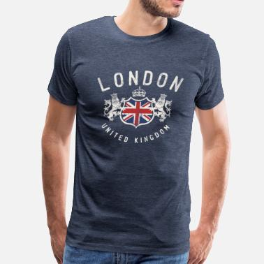 London Souvenir London Great Britain - Men's Premium T-Shirt