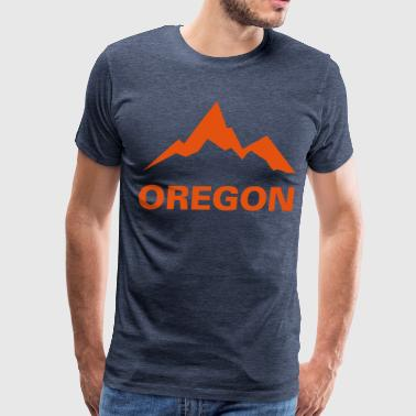 Oregon Mountains - Men's Premium T-Shirt