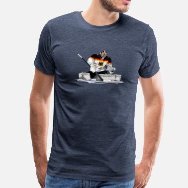Allemagne Hockey - Men's Premium T-Shirt