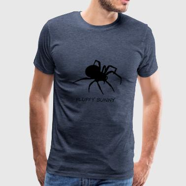 Fluffy Wrong Fluffy Bunny Spider - Men's Premium T-Shirt