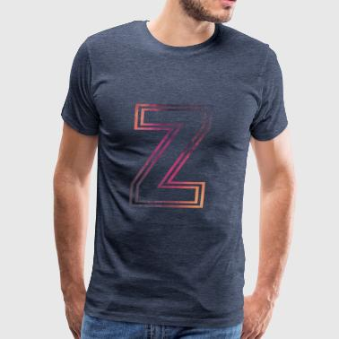 Fame Allstars Alphabet Z - Men's Premium T-Shirt