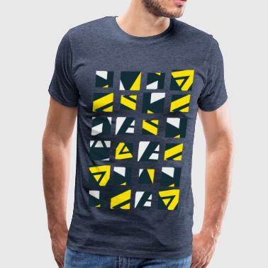Geometry pattern a1 - Men's Premium T-Shirt