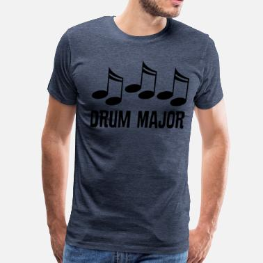 Drum-major Drum Major Marching Band Gift - Men's Premium T-Shirt