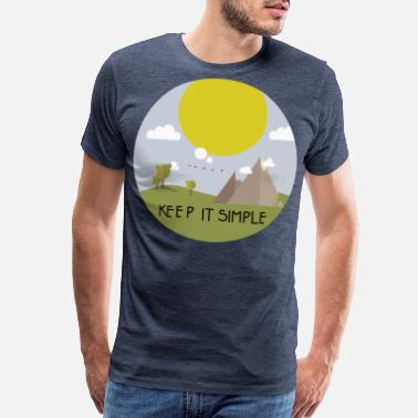 Member Keep it simple and go camping - Men's Premium T-Shirt