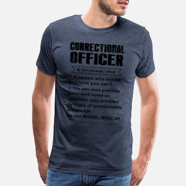 Officer correctional officer funny, correctional officer, - Men's Premium T-Shirt