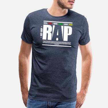 Rap Fan Hip-Hop Collection Rap - Men's Premium T-Shirt