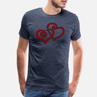 Path Heart - Men's Premium T-Shirt
