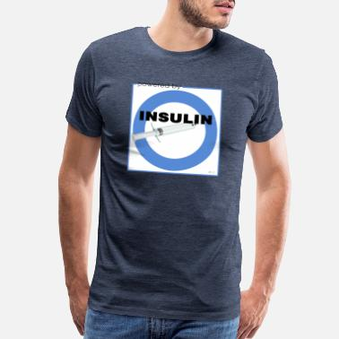 Insulin Powered by Insulin - Men's Premium T-Shirt