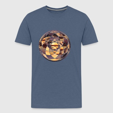 Geometric Design 2 NoLine - Men's Premium T-Shirt