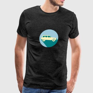 Vintage French Car - Men's Premium T-Shirt
