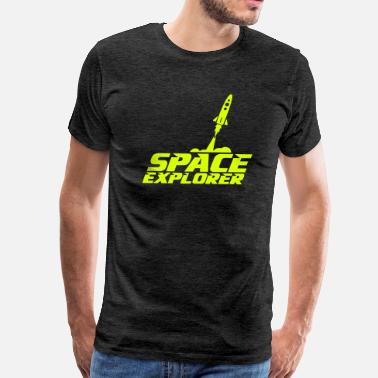Space Exploration space explorer - Men's Premium T-Shirt
