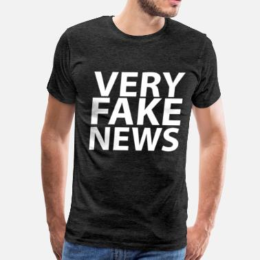 Donald Trump Jr. Very Fake News - Men's Premium T-Shirt