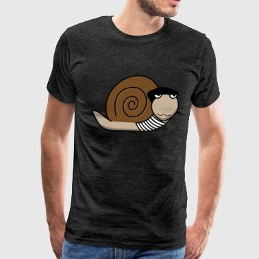 Escargot French Snail - Men's Premium T-Shirt