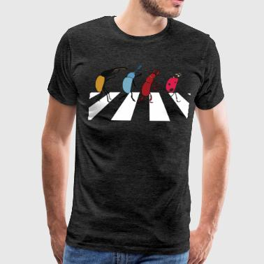 Abbey Road Beetles - Men's Premium T-Shirt