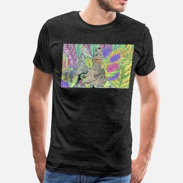 statue painting - Men's Premium T-Shirt