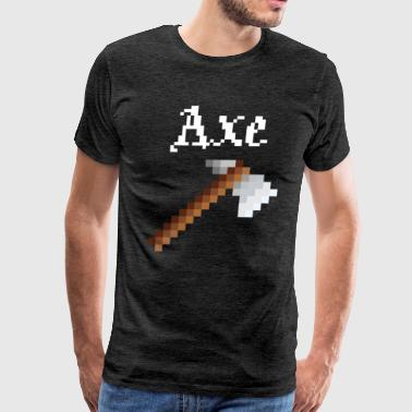 Indian Sioux Axe - Men's Premium T-Shirt