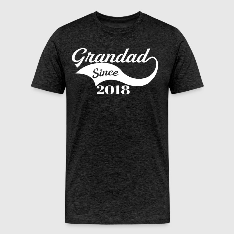 Grandad Since 2018 - Men's Premium T-Shirt