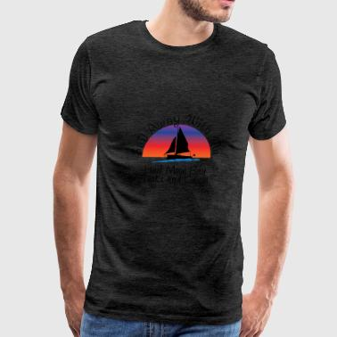 half moon bay turks and c - Men's Premium T-Shirt
