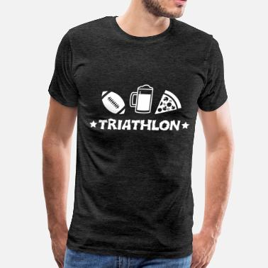 Triathlons Triathlon - Triathlon - Men's Premium T-Shirt
