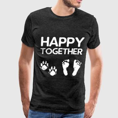 Together - Happy together - Men's Premium T-Shirt