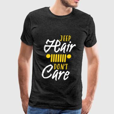 Jeep - Jeep hair don't care - Men's Premium T-Shirt