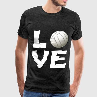 Volleyball  - Love - Men's Premium T-Shirt