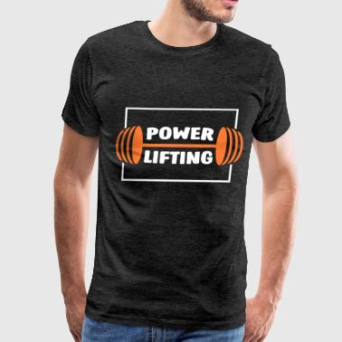 Powerlifting - Powerlifting - Men's Premium T-Shirt