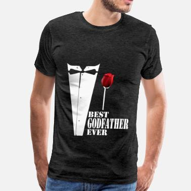 Best Godfather Godfather - Best Godfather ever - Men's Premium T-Shirt