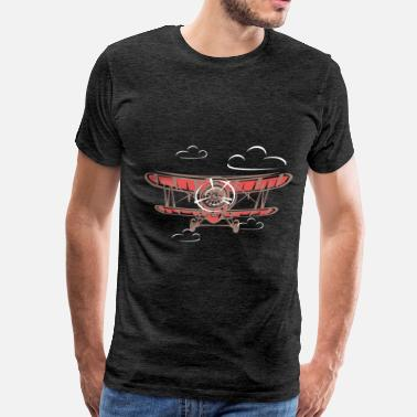 With Airplane Airplane - Airplane - Men's Premium T-Shirt