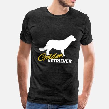 Golden Retriever Clothes Golden retriever - Golden retriever - Men's Premium T-Shirt