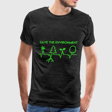 Environment - Save the environment - Men's Premium T-Shirt
