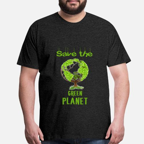 Green Planet Save The Green Planet Men S Premium T Shirt